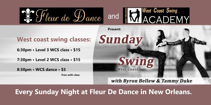 Sunday Swing 5-27-2018